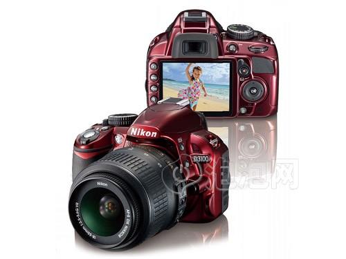 尼康D3100中国红特别版套机
