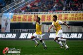 图文:[中超]陕西1-3南昌 南昌攻入第2球