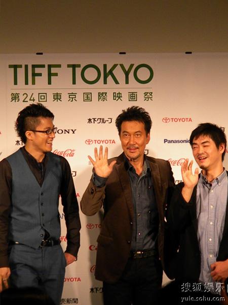 日本本土唯一一部入围竞赛单元影片《啄木鸟与雨》主创亮相