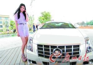 超模奚梦瑶助阵 2012款CTS和CTS Coupe上市