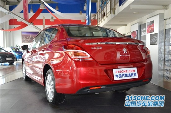 1.6L手动风尚型值得购买 标致308购车指南