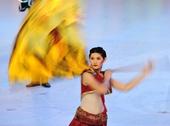 图文:第七届全国城运会闭幕 泰国乐团表演