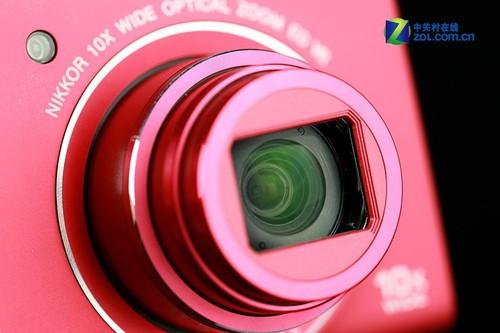 图为:尼康S6200镜头