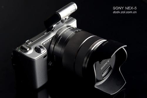 图为:索尼NEX5