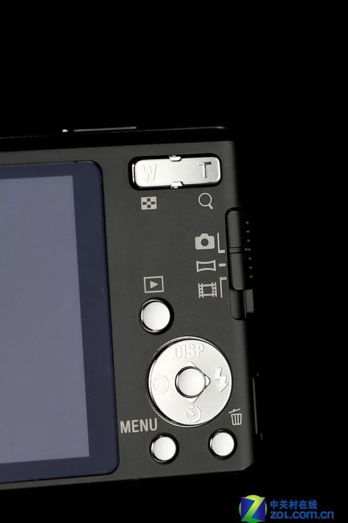 图为:索尼W530按键区