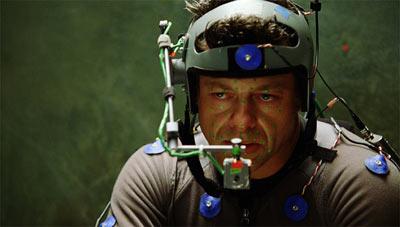 作为动作捕捉技术的表演专家,安迪-瑟金斯细腻的诠释出了大猩猩的眼神变化