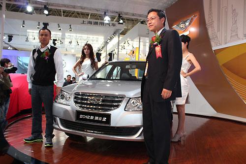 2011杭州车展现场旗云2上市