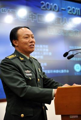 2008绿色中国年度人物、国防大学校务副部长、党委副书记郭承站发言