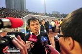 图文:[中超]南昌0-0上海 朱炯接受访问