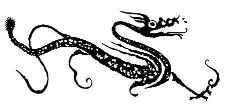 汉代龙纹 资料图片