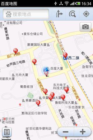 新增摄像头提醒功能 百度手机地图1.5.1下载