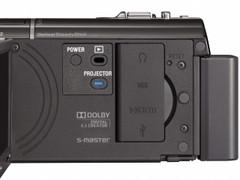 图为:索尼投影摄像机PJ30E