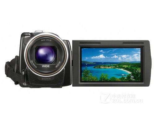 图为:索尼数码摄像机XR160E