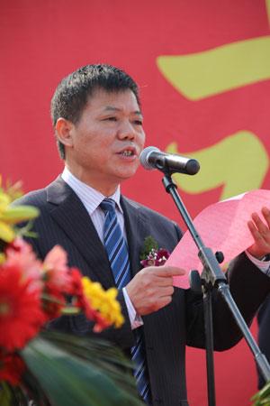中共拱墅区委常委、常务副区长卢建标做重要致词