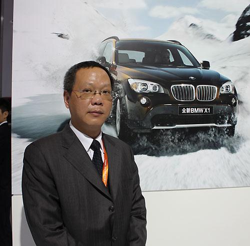 杭州宝信汽车销售有限公司总经理王浩
