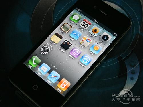 苹果iPhone 4出色的视网膜屏幕