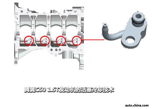 利用机内水循环及机油冷却器,对润滑油进行牵制冷却,既有效保护了润滑