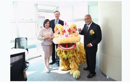 李锦记健康产品集团香港新办公室开幕(组图)图片