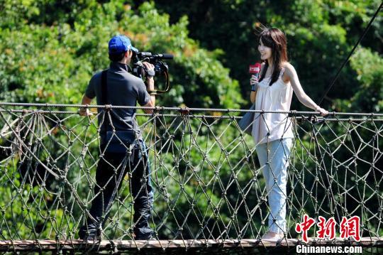 台湾电视台标志_台湾一电视台发生火灾女主播当街播新闻