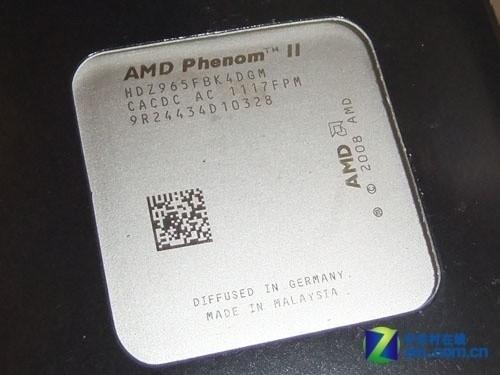 X4 965四核频率3.2GHz,6MB缓存,售价为830元