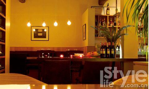潞溪餐厅的现代欧式西餐