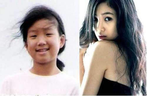 女星成名前的崩溃旧照 凤姐和大S很像?