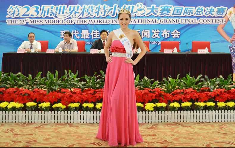 嫩模风潮席卷中国 世界模特大赛连破低龄化记录(图)