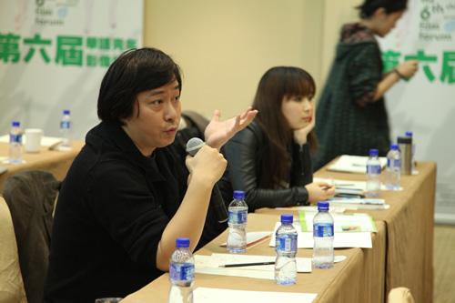 台下观众对搜狐视频在线影展表示赞赏