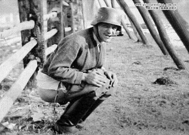 二战德军滑稽旧照【图】机器王电影图片