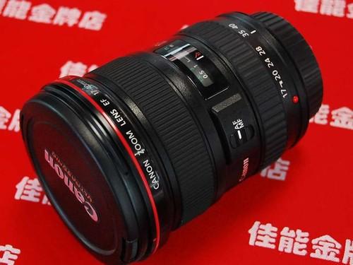 图为:佳能EF17-40mm f/4L USM镜头