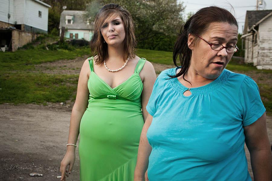 美国贫困区女孩的生活记录【高清组图】