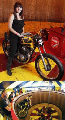 世界上 天才/世界上最年轻的死亡摩托车骑士