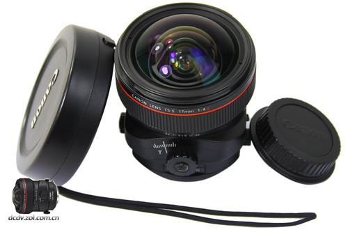 佳能的TS系列镜头就属于现代移轴镜头的典型