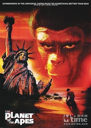 1968年版的 人猿星球 海报