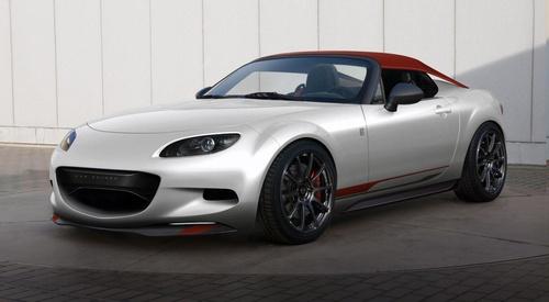 马自达将在下周开幕的SEMA改装车展上发布两款马自达概念车,分别是MX-5 Miata Spyder与Turbo2。