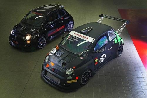 Abarth发布菲亚特500红蝎赛车版
