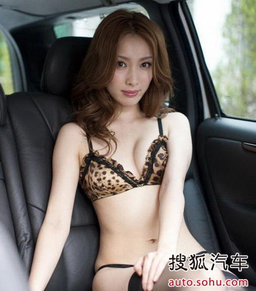 性感车模 美女豹纹黑丝上演车内窒息诱惑 搜狐