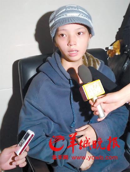 男婴母亲刘冬梅接受媒体采访