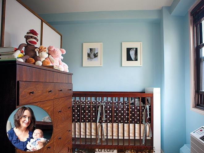 JESSICA ALBA 家的婴儿房