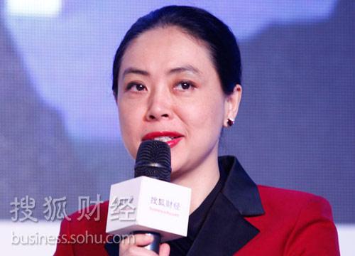 纳斯达克中国区首席代表郑华。(来源:搜狐财经)