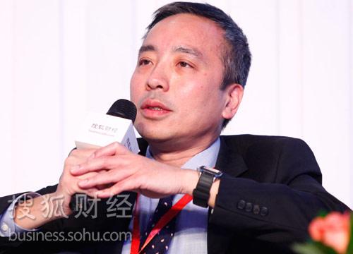 毕马威亚太区审计业务首席合伙人廖子彬。(来源:搜狐财经)