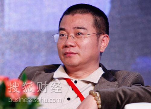 融科智地执行总裁郑志刚。(来源:搜狐财经)