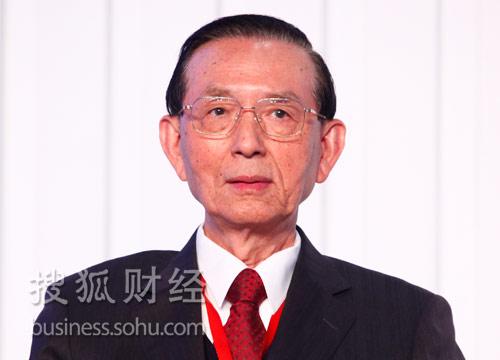(台湾)永丰银行董事长邱正雄。(来源:搜狐财经)
