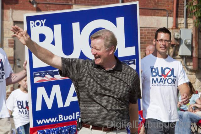 罗伊?布奥尔,2005年就职迪比克市长