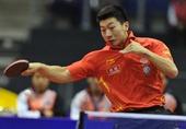 图文:[乒乓球]男团登顶世界杯 马龙击败柳承敏