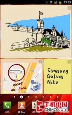 5.3寸屏另类旗舰 三星Galaxy Note体验