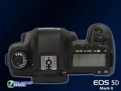 图为:佳能全画幅单反5D Mark II