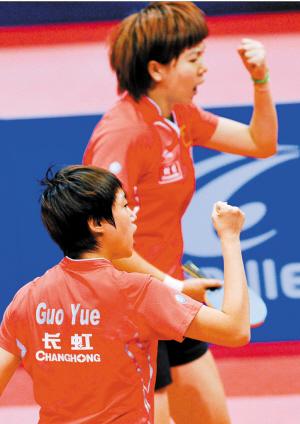 中国女乒再夺世界杯创五连冠纪录 第七度登顶
