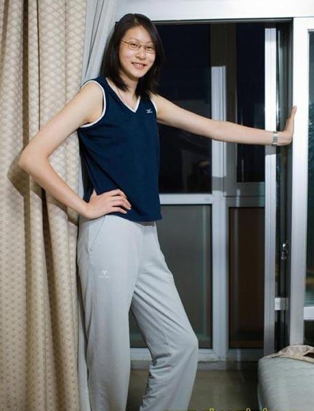 十大女排美女:中国版山口百惠