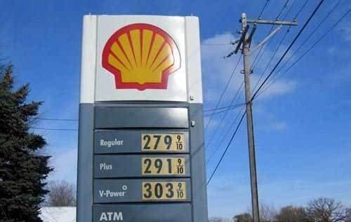 在美国加满一箱汽油,三十块足够。